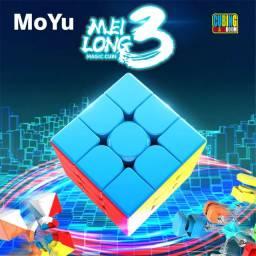 Cubo Mágico Profissional 3x3x3 Moyu Meilong 3c Stickerless