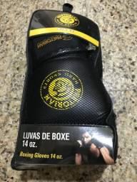 Luvas de Boxe 14oz - Pretorian + Bandagem