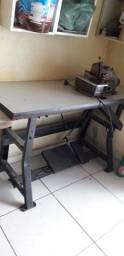 Maquina de costura overlock industrial usada