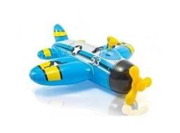 Título do anúncio: Boia inflável Avião com pistola até 40 kg 1,32 metros