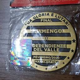 Moeda medalha do flamengo