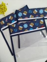 Saquinhos organizadores p/ maternidade (kit com 3 unidades)