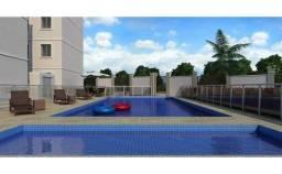 Excelente apartamento novo de 2 quartos no térreo em Jacaraípe - Serra