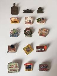 Pins exclusivos e originais Outback Steakhouse