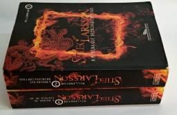Livros da Série Mulennium de Stieg Larsson - 2 livros