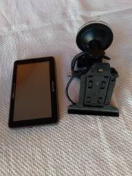 GPS com tv.