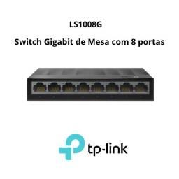 Switch Gigabit de Mesa com 8 portas LS1008G