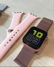 Relogio Smartwatch X7 Atualizado Troca Foto + Pulseira Extra