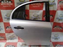 Porta Traseira Lado Direito Nissan New March  2015 2016 2017