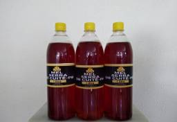 Mel puro de abelha italiana garrafas de 1 litro