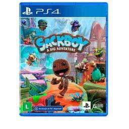 Sackboy: A Big Adventure - PS4/PS5 (Lacrado)