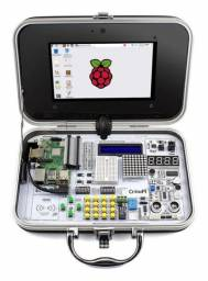 Display Lcd 3.5 Touch Tela Raspberry Pi3b E B+ + Case Kit