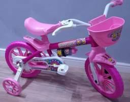 Bicicleta flower aro 12 nova