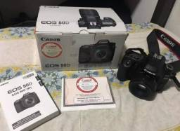 Canon 80D kit 50mm 8.293 clicks