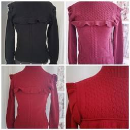 Casacos em tricot