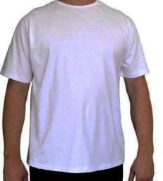 Camisa Branca Direto De Fábrica 20 Unidades - 100% Poliéster
