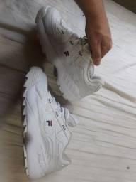 Tênis fila D-formation branco