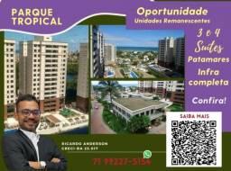 Título do anúncio: Patamares , 2 vagas , Varanda Gourmet , 113m² , Parque Tropical , 3 suítes