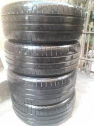 Vendo 4 pneus novos, goodyear 195 55/15