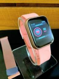 Relógio Smartwatch ThinFit W8 Android e Ios com 2 Pulseiras!!! ESPECIAL DIA DAS MÃES!!!