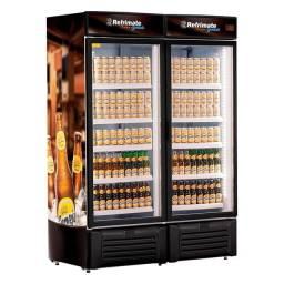 Cervejeira porta de vidro 2 portas - JM equipamentos