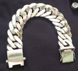 Pulseira de prata 950.  170g