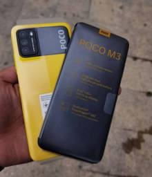 Poco M3 64gb amarelo | Maior bateria pelo menor preço | Xiaomi | NOVO E ORIGINAL