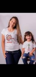 Camisas personalizadas para dia das mães