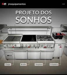 Equipamentos para cozinha industrial JM equipamentos