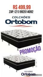 CAMAS BOX ORTOBOM ORIGINAIS