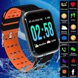 Smartwatch relógio inteligente  NOVO na caixa lacrada