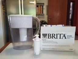 Garrafa purificadora Brita + 5 filtros lacrados