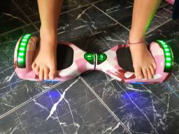 Vendo ouverboard rosa com bluetooth