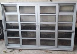 Janela de alumino 1,00x1,50m / janela janela janela janela janela / retirar vila formosa