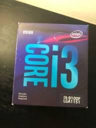 Processador Intel Core i3-9100F