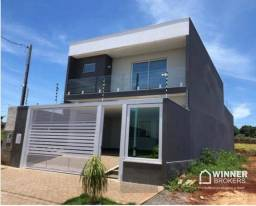 Sobrado com 3 dormitórios à venda, 251 m² por R$ 1.000.000,00 - Jardim Munique - Maringá/P