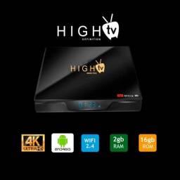 Tv Box HighTV Brasil Plus Android 9 2gb ram 16gb