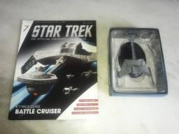 Star Trek - Edição 7 - K'T'inga Class Battle Cruiser (Eaglemoss)