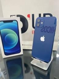 iPhone 12 64GB Azul , seminovo Garantia Apple Novembro 2021