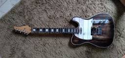 Guitarra telecaste feita por Luther