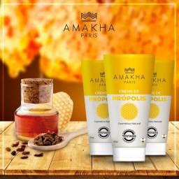 Creme de Própolis cosmético natural Amakha Paris