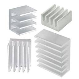Kit conjunto dissipadores de aluminio para Raspberry pi pi2 pi3 pi3b pi3b+ pi4
