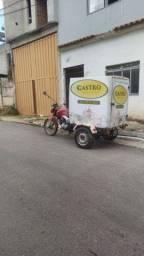 Vendo Triciclo Baú em Fibra de vidro Brazcar cargo