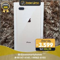 IPHONE 8 PLUS, 64GB, LACRADO, GOLD, OFERTA