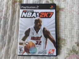 Jogo PS2 NBA 2k7