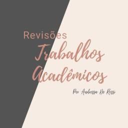 Título do anúncio: Revisão, Formatação e Planejamento de Trabalhos Acadêmicos