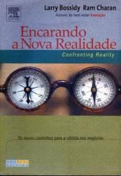 Livro - Encarando a Nova Realidade - Confronting Reality Larry Bossidy e Ram Charan