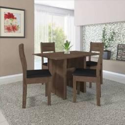 Imperdível Conjunto de Mesa com 4 Cadeiras Entrega e Montagem Grátis