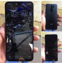 Troco redmi 9 32Gb 4 de ram por iPhone