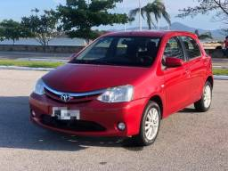 Toyota Etios XLS 1.5 unico dono, baixo km, super conservado! Consigo financiamento
